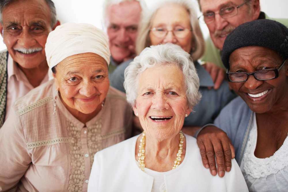 A group shot of Caritas House residents.